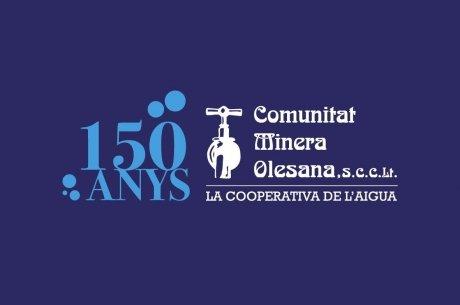 Logotip de la celebració del 150è aniversari de la CMO.