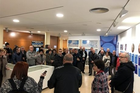 """Inauguració de l'exposició """"Aigua i Economia Social: 150 anys de la Comunitat Minera Olesana"""""""