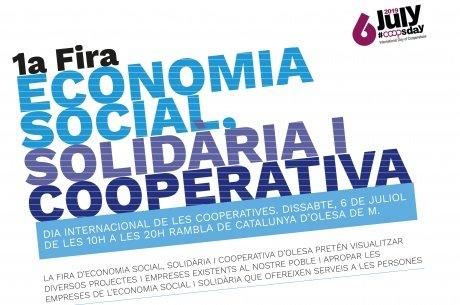 La CMO s'uneix a la Fira d'Economia Social, Solidària i Cooperativa.