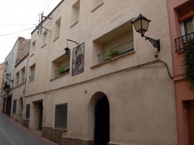 Façana del convent de les monges paüles a Olesa