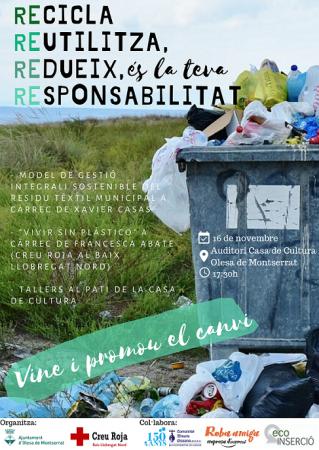 cartell 16 de novembre 2 setmana residus