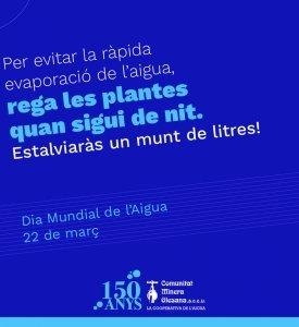 Dia Mundial de l'Aigua 2020